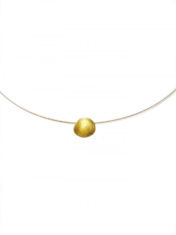 Collar de oro justo Fairmined 18 kts