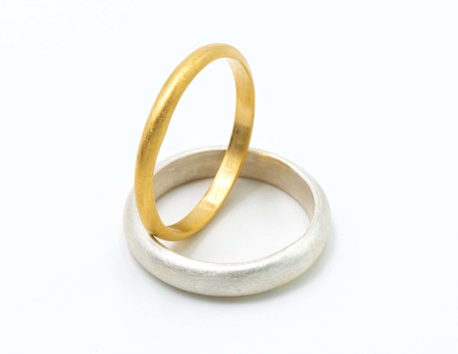 Alianzas de boda con oro Fairmined