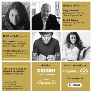 Colectivo Origen presenta diálogos sobre joyería sostenible y responsable
